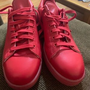 Stan Smith adidas, Red ,(Used)
